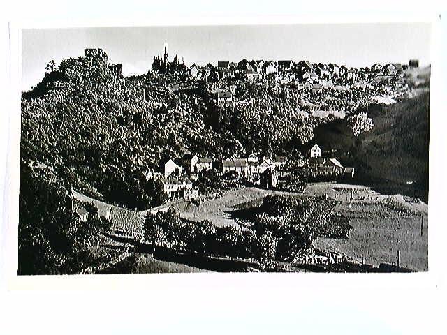 Hohenstein (Taunus), Ort und Burgruine, AK, ungelaufen, datiert 1951