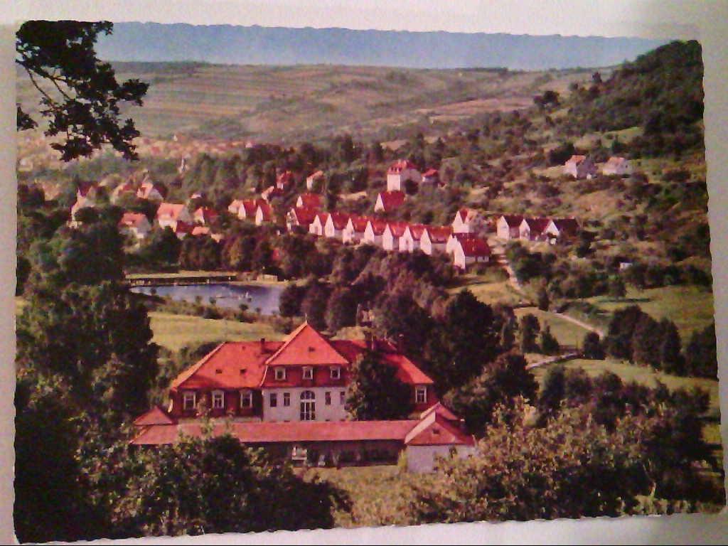 Bad Orb. Annenhof, Schwimmbad, Villbacherstraße. , Ansichtskarte