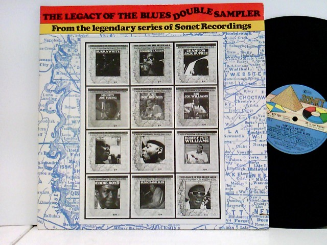 The Legacy Of The Blues Double Sampler