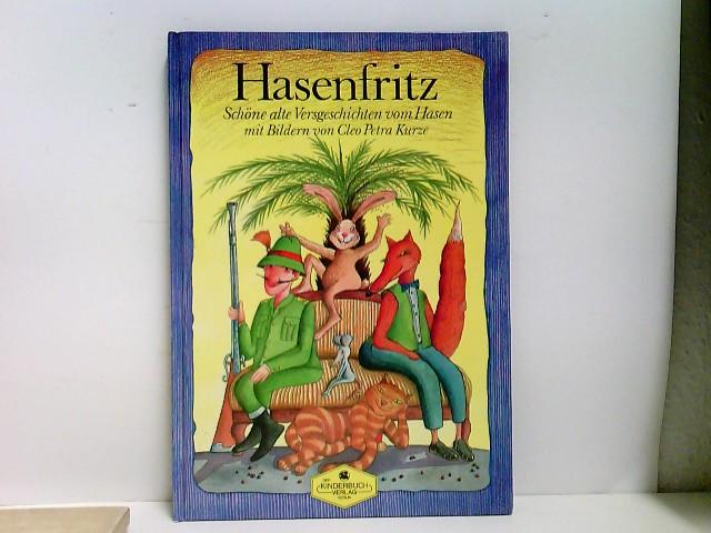 Hasenfritz Auflage: 1. Auflage.