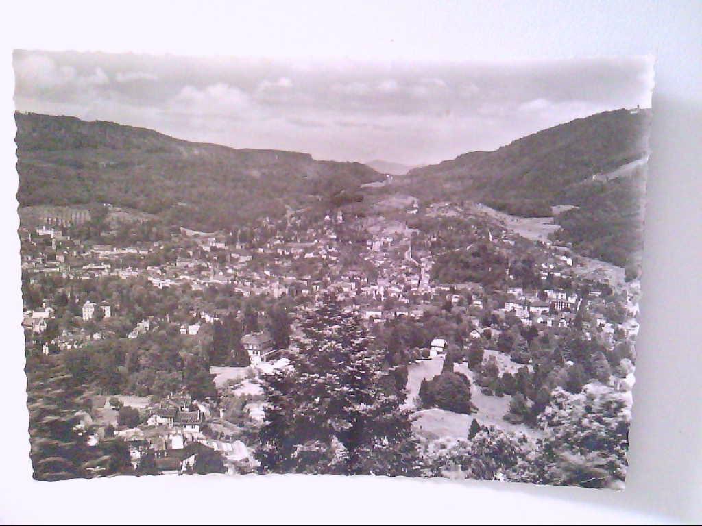 Baden-Baden. Luftaufnahme. Waldhaus Batschari. Panorama. Ansichtskarte.