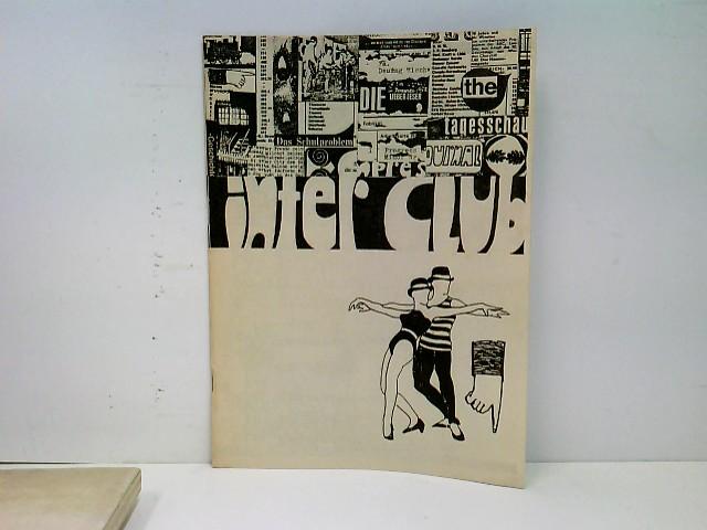 Interclub - Eine Zeitschrift für die Jugend - Nr. 3 Juni 1965