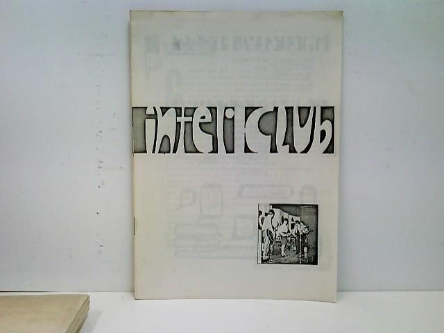 Interclub - Eine Zeitschrift für die Jugend - Nr. 1 Februar 1965
