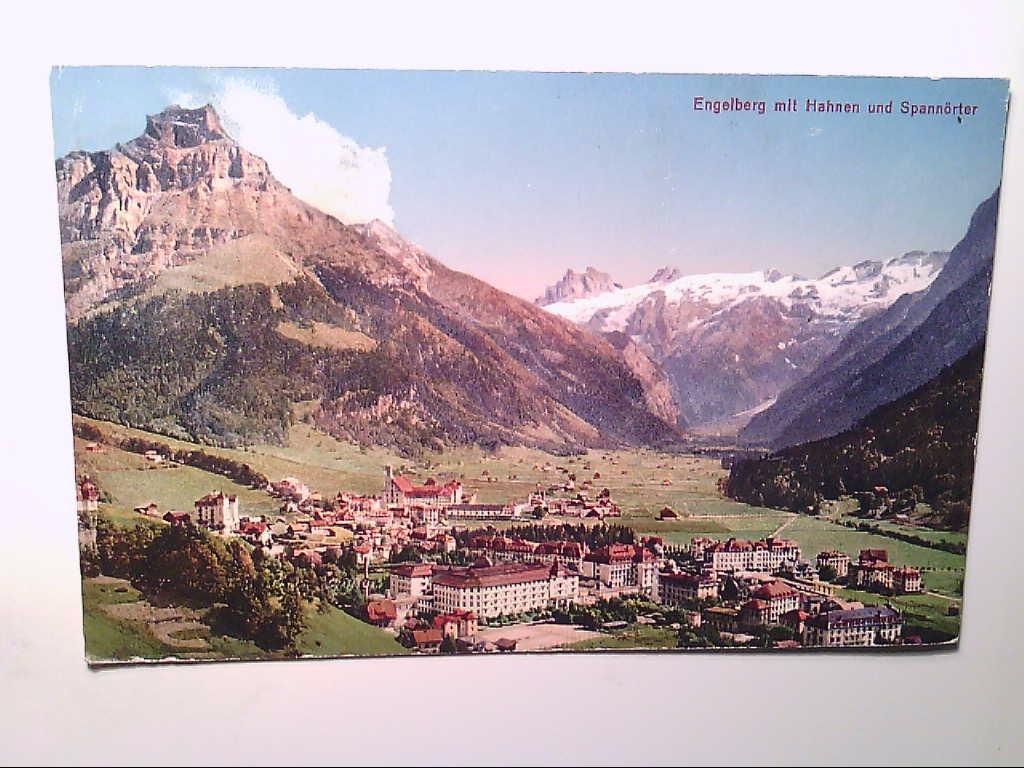 Engelberg. Schweiz. Künstlerkarte. AK.