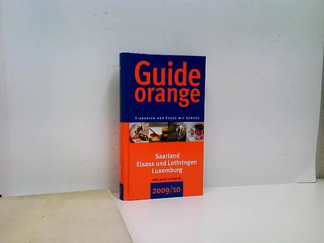 Guide orange 2009/10: Einkaufen und Essen mit Genuss