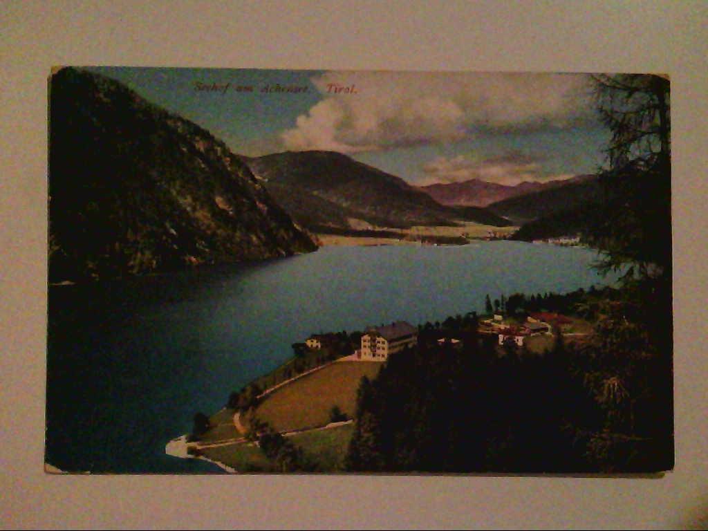Seehof am Achensee. Tirol. Österreich. Luftaufnahme. AK.