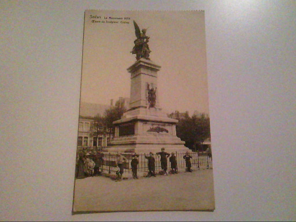 Sedan. Frankreich. Le Monument 1870. AK.