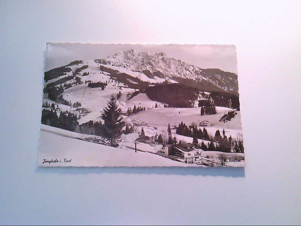 Jungholz. Tirol. Österreich. Berg-Hotel Tirol. AK.