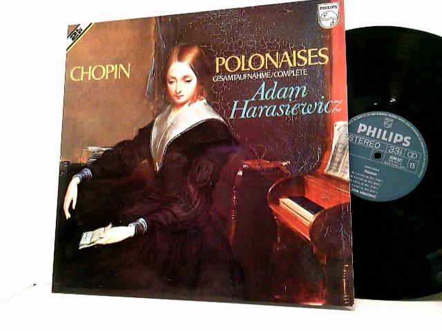 Adam Harasiewicz – Polonaises. Gesamtaufnahme/Complete