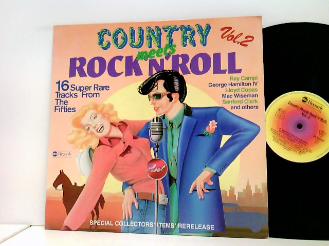 Various: Country Meets Rock 'n' Roll Vol.2