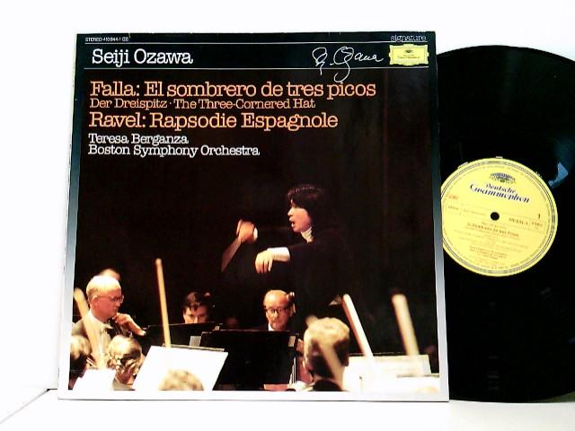 Falla : El Sombrero De Tres Picos / Ravel : Rapsodie Espagnole