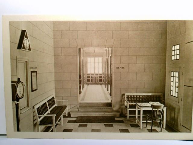 Moy / Aisne / Frankreich. Centre d´ Hygiéne. Bains - Douches. Salle d´ attente. Behandlungszimmer, Krankenhaus De Vaugirard