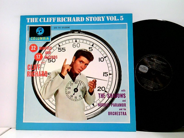 And Norrie Paramor And His Orchestra – The Cliff Richard Story Vol. 5 - 32 Minutes And 17 Seconds With Cliff Richard