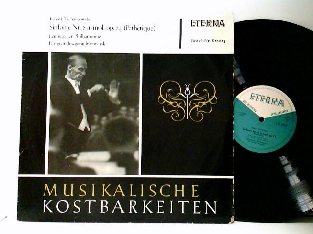 Leningrader Philharmonie*, Jewgenij Mrawinski* – Sinfonie Nr. 6 H-moll Op. 74 (Pathétique)