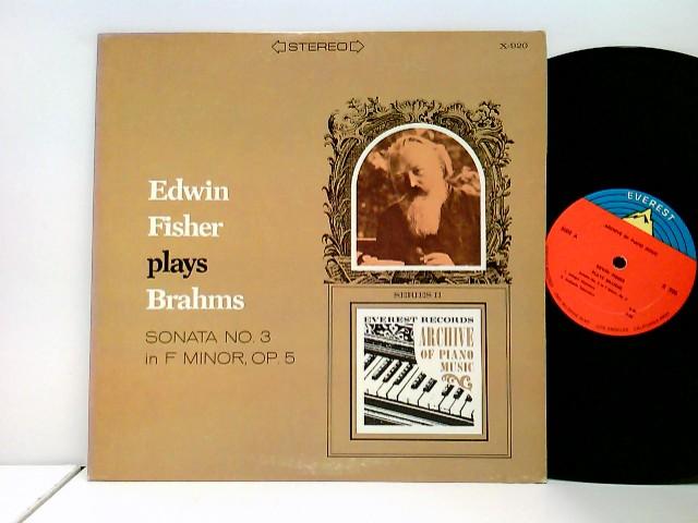 plays Brahms Sonata No. 3 in F Minor, Op. 5