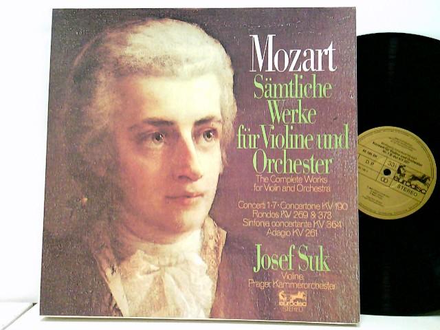 Josef Suk, Prager Kammerorchester* – Sämtliche Werke Für Violine Und Orchester