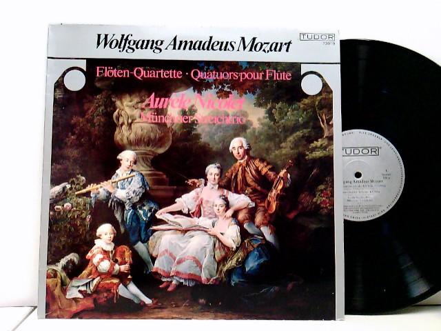 Aurèle Nicolet, Münchner Streichtrio, Ana Chumachenko, Oscar Lysy, Walter Nothas – Flöten Quartette . Quatuors pour flûte