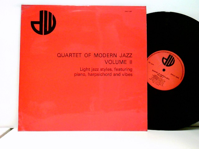 Quartet Of Modern Jazz. Volume 2