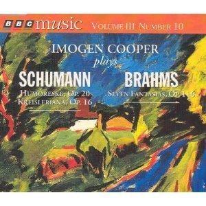 Cooper, Imogen: Robert Schumann & Johannes Brahms
