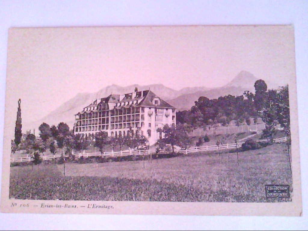 Evian-les-Bains. Frankreich. L´Ermitage. AK.