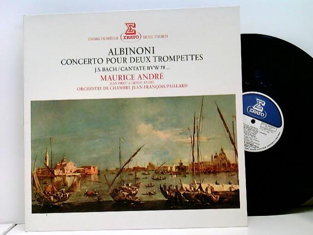 Domenico Zipoli, Johann Sebastian Bach, Maurice André – Concerto Pour Deux Trompettes