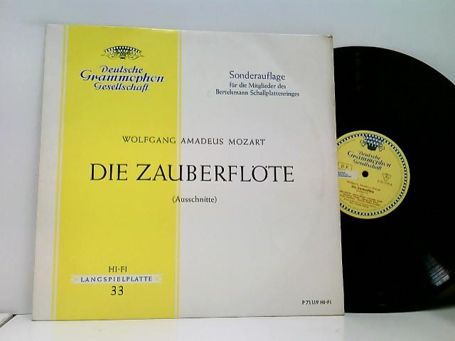 Mozart, Wolfgang Amadeus: Ferenc Fricsay - RIAS Symphonie-Orchester Berlin – Die Zauberflöte (Ausschnitte)