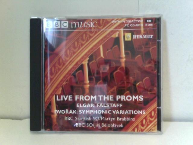 BBC Scottish SO BBC SO Martyn Brabbins a. o.: Live from the Proms - Edward Elgar - Falstaff / Antonin Dvorák - Symphonic Variations