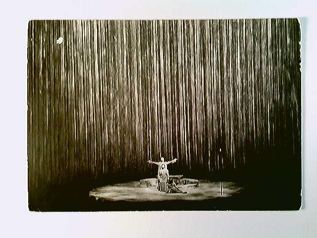 Bayreuth, Festspiele 1961, Parsival III. Akt, AK, ungelaufen