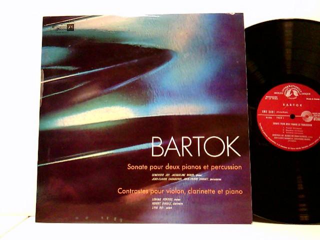 Bartók, Béla: Sonate Pour Deux Pianos Et Percussion / Contrastes Pour Violon, Clarinette Et Piano