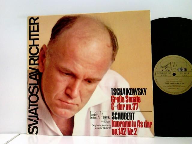 Schubert*, Richter* – Grosse Sonate G Major, Op. 37 - Impromptu Op. 142 Nr. 2