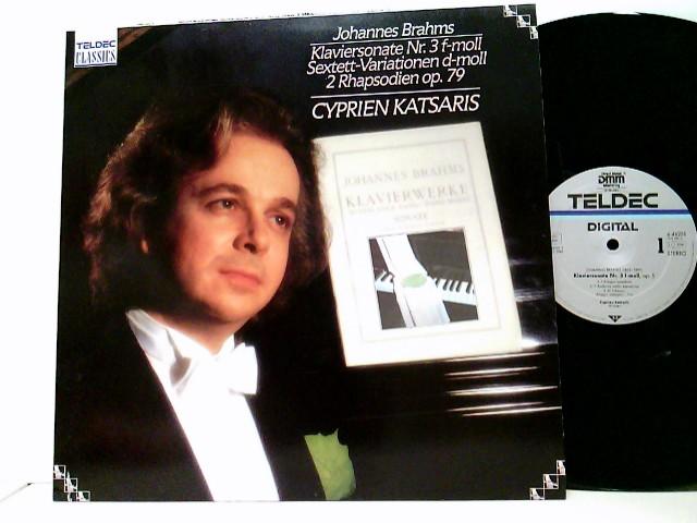 Cyprien Katsaris – Klaviersonate Nr. 3 F-moll / Sextett-Variationen D-moll / 2 Rhapsodien Op. 79
