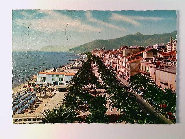 Loano, Passeggiata Garassini, Riviera delle Palme, AK, gelaufen 1964