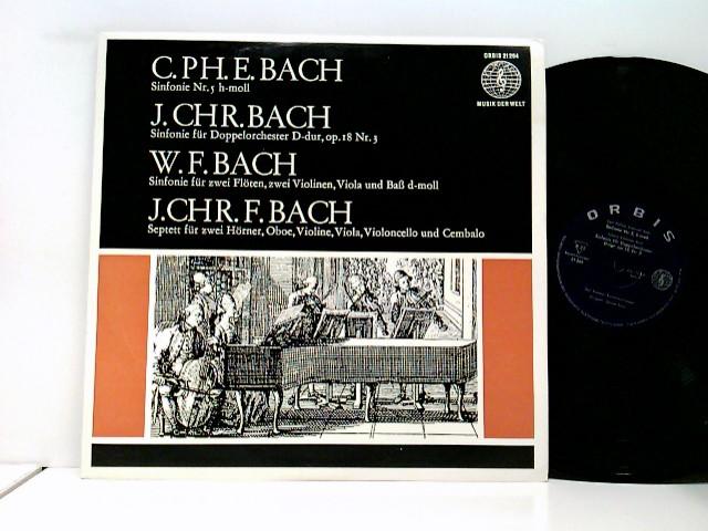 Johann Christoph Friedrich Bach, Johann Christian Bach, Carl Philipp Emanuel Bach, Wilhelm Friedemann Bach, Mainzer Kammerorchester, Günter Kehr – Bach-Söhne