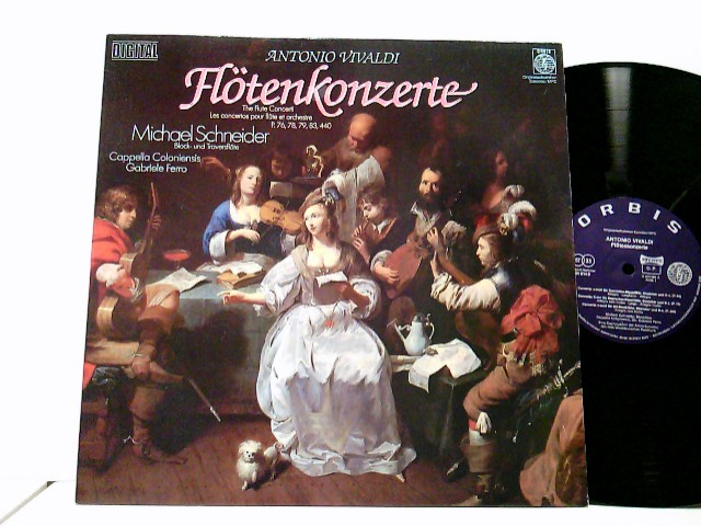 Michael Schneider  - Cappella Coloniensis, Gabriele Ferro – Flötenkonzerte P. 76, 78, 79, 83, 440