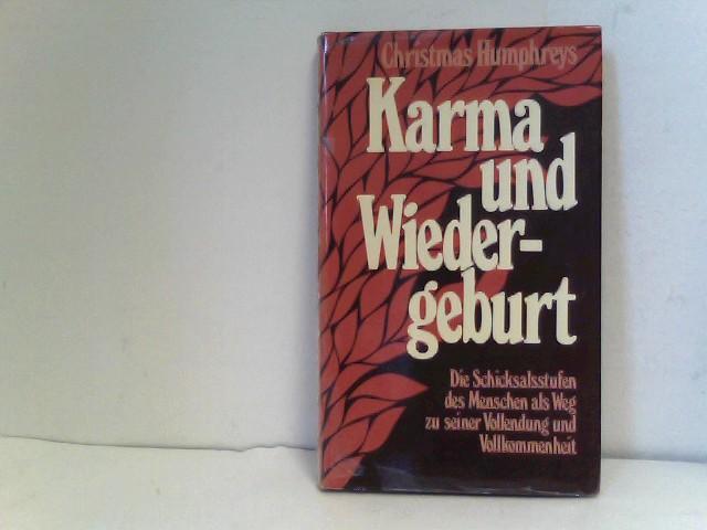 Karma und Wiedergeburt - Die Schicksalsstufen des Menschen als Weg zu seiner Vollendung und Vollkommenheit 1. Auflage