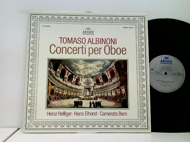 Heinz Holliger, Hans Elhorst, Camerata Bern – Concerti Per Oboe