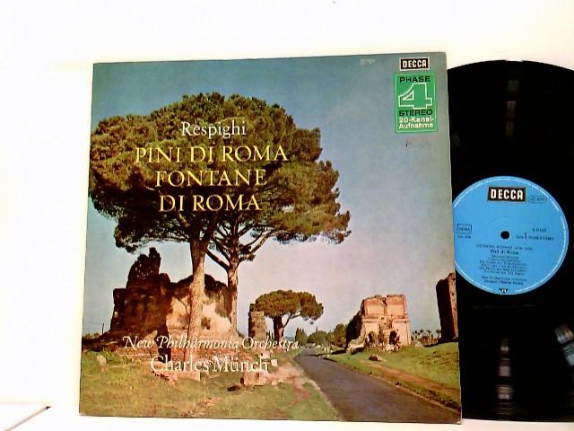 Charles Münch*, New Philharmonia Orchestra – Pini Di Roma / Fontane Di Roma