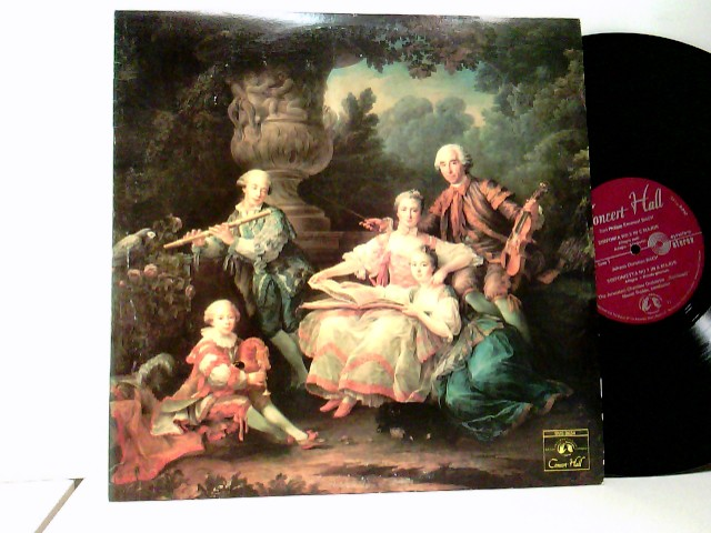 Conducted By Mendi Rodan / C.Ph.E. Bach* ; J.C. Bach* ; W.F. Bach* – Les Fils De Bach - Die Söhne Bachs