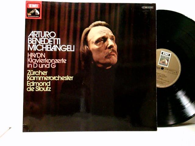 Arturo Benedetti Michelangeli, Orchestra Da Camera Di Zurigo*, Edmond De Stoutz – Concerti Per Pianoforte In Re & Sol
