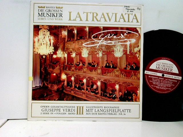 Die Großen Musiker: Guiseppe Verdi 2. Serie In 4 Folgen · Band III - La Traviata