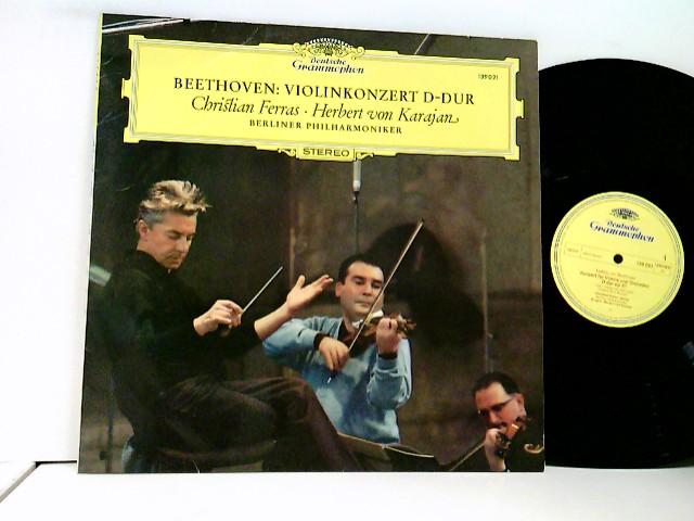 Christian Ferras, Herbert von Karajan, Berliner Philharmoniker – Violinkonzert D-Dur