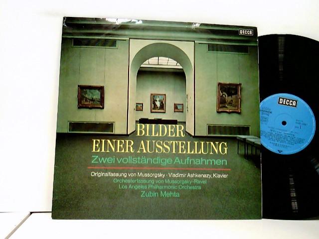 Ravel* - Vladimir Ashkenazy, Zubin Mehta, Los Angeles Philharmonic Orchestra – Bilder Einer Ausstellung (Zwei Vollständige Aufnahmen)
