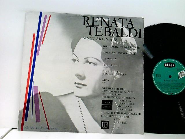 Tebaldi, Renata: Singt Arien Aus Die Hochzeit Des Figaro, Adriana Lecouvreur, La Wally, Lodoletta, Die Macht Des Schicksals & Aida