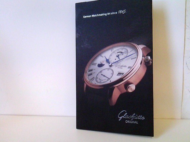 Die neuen Zeitmesser - The new timepieces. Senator Cosmopolite / PanoMaticLunar / PanoReseve / Senator Observer / Pavonina - Presseunterlagen inkl. digitaler Version Deutsche Uhrenmacherkunst seit 1845 - German Watchmaking Art since 1845