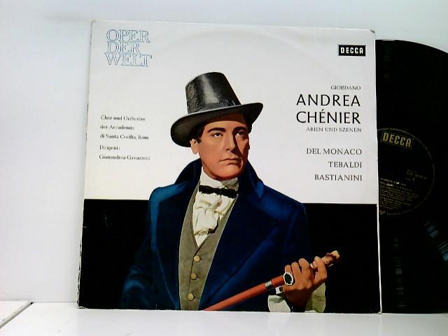 Del Monaco*, Tebaldi*, Bastianini*, Chor* Und Orchester Der Academia Di Santa Cecilia, Rom*, Gianandrea Gavazzeni – Andrea Chénier (Arien Und Szenen)