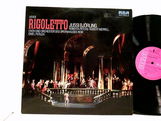 Jussi Björling, Roberta Peters · Robert Merrill, Chor* Und Orchester Des Opernhauses Rom, Ionel Perlea – Rigoletto
