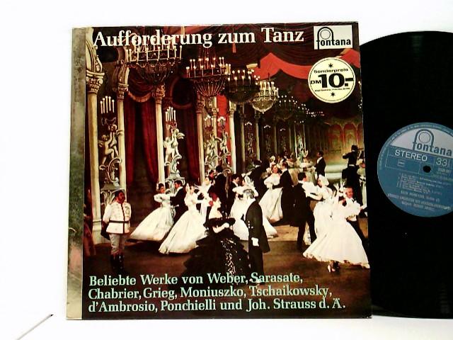 Grosses Orchester Des Deutschlandsenders*, Robert Hanell – Aufforderung Zum Tanz