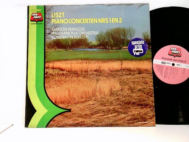 Samson François, Constantin Silvestri, Philharmonia Orchestra – Pianoconcerten Nrs. 1 En 2
