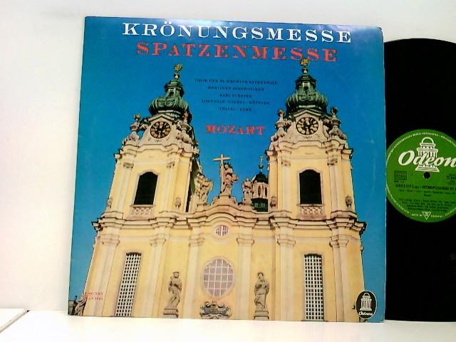 Chor Der St. Hedwigs-Kathedrale Berlin, Die Berliner Symphoniker*, Wolfgang Meyer, Karl Forster – Krönungsmesse / Spatzenmesse