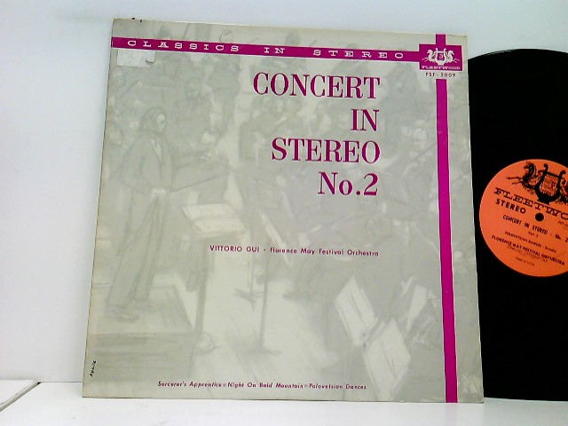 Modest Mussorgsky, Alexander Borodin, Vittorio Gui – Concert In Stereo No. 2